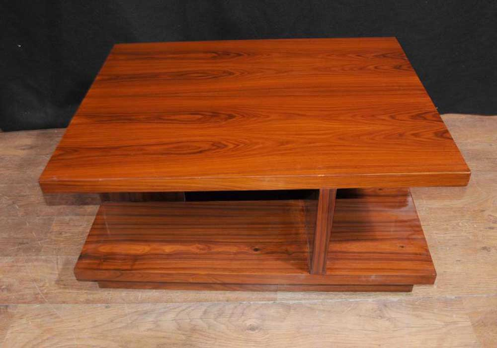 Image of: Art Deco Coffee Table Simple