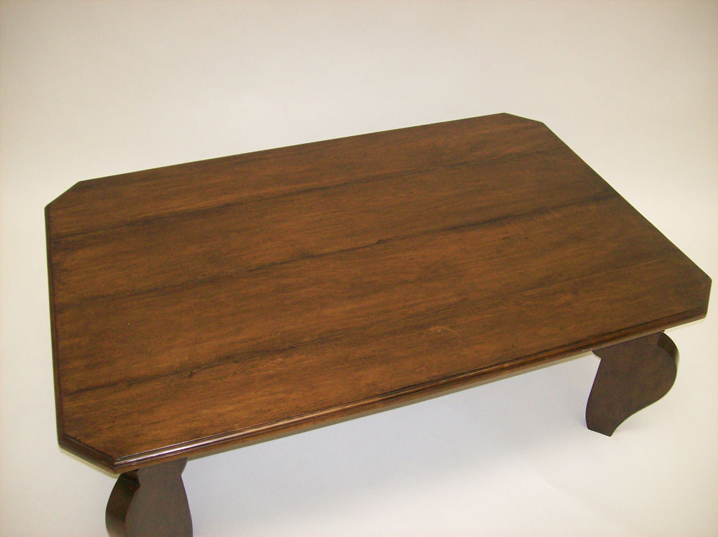 Picture of: Art Deco Coffee Table Squere
