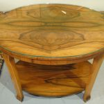 Art Deco Coffee Table Wooden