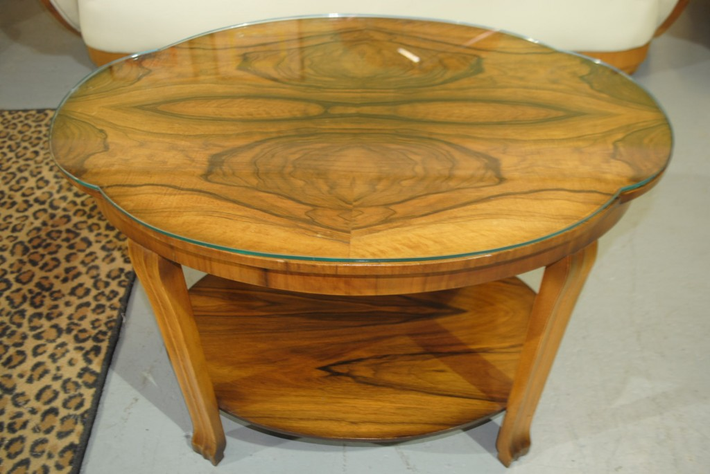Image of: Art Deco Coffee Table Wooden