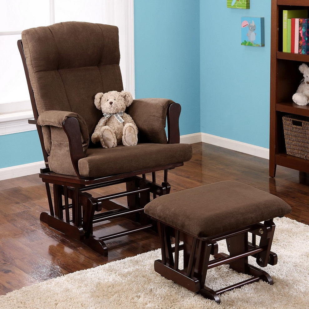Baby Recliner and Ottoman