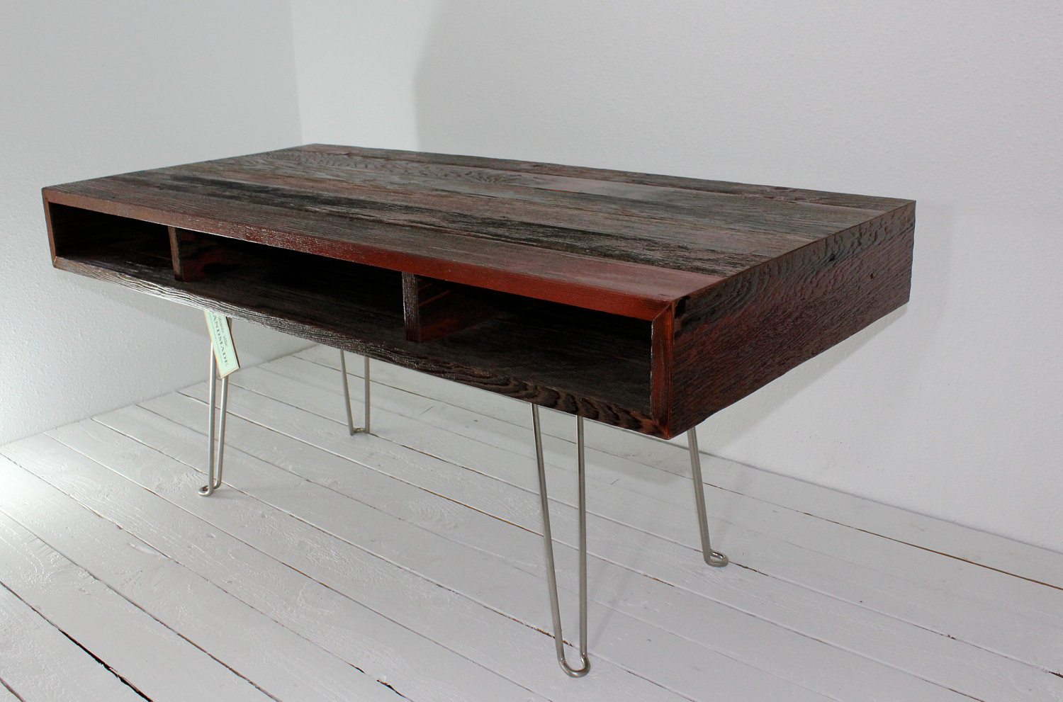 Image of: Barn Wood Coffee Table Photo