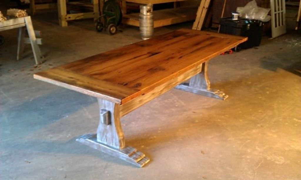 Picture of: barn wood tables image