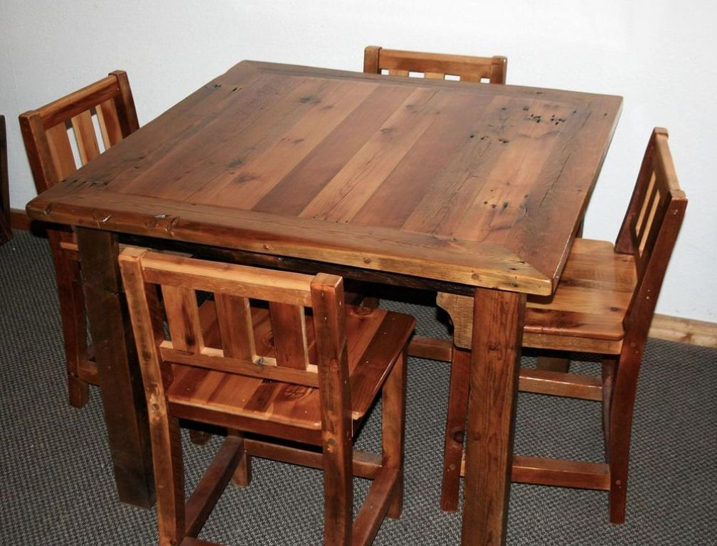 Picture of: barn wood tables who makes