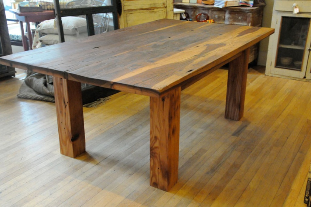 Picture of: barn wood tables and benches