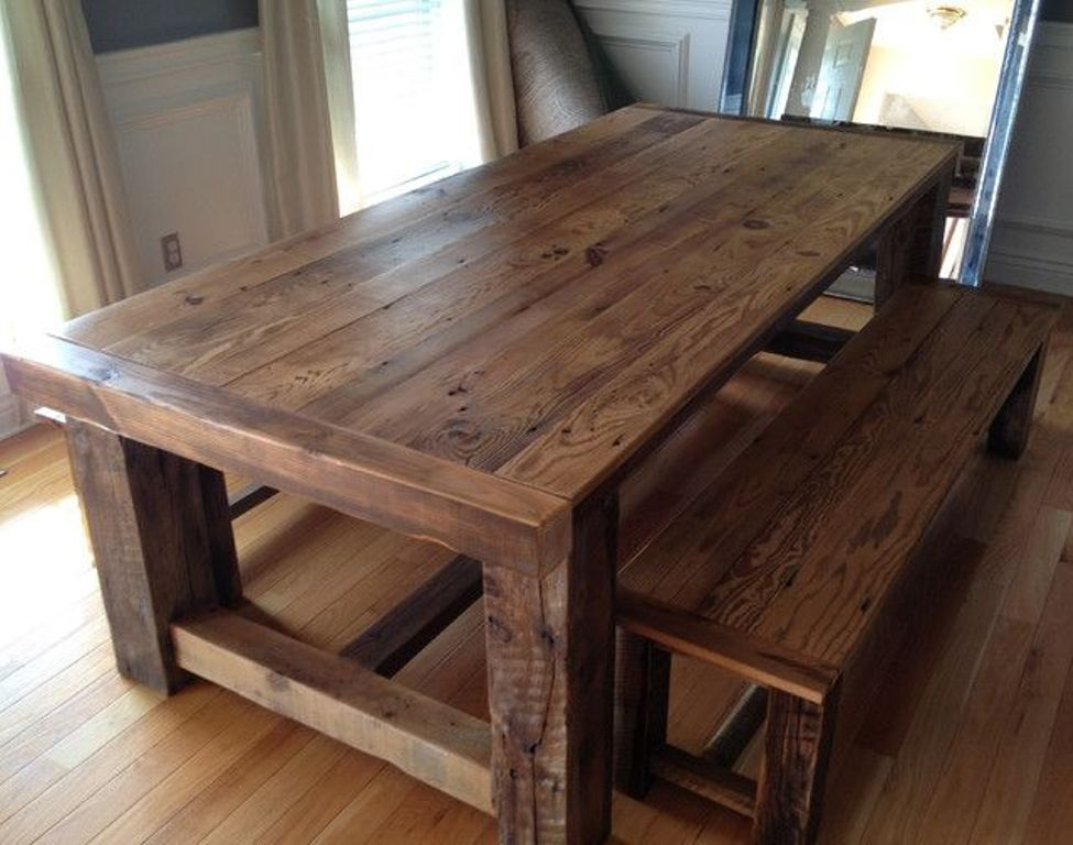 Picture of: barn wood tables for sale