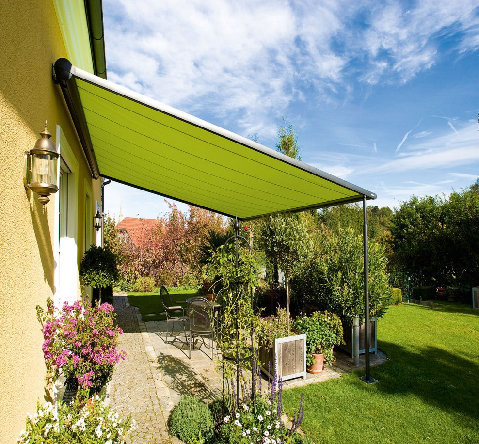 Picture of: Beautiful Retractable Pergola