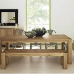 Bench Dining Table