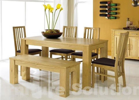 Picture of: Bench dining table pinterest