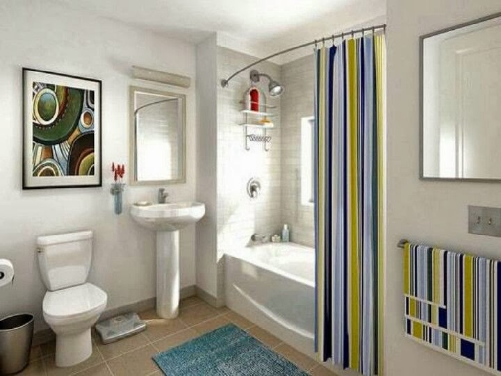 Image of: best adjustable shower curtain rod ideas
