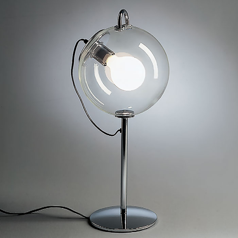 Image of: Best Glass Ball Table Lamp