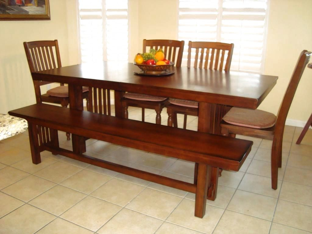 Image of: Best Mission Style Dining Table