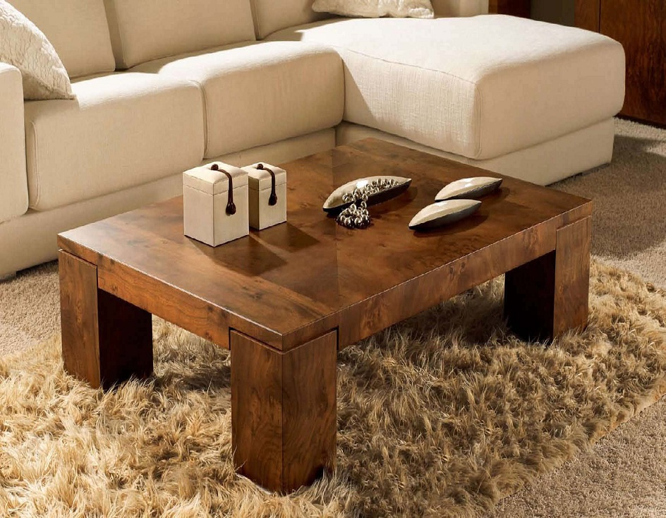 Image of: Best Natural Wood Coffee Table