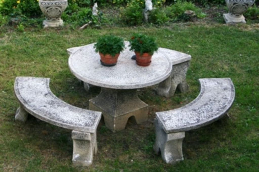 Picture of: Best Repairing Concrete Picnic Tables