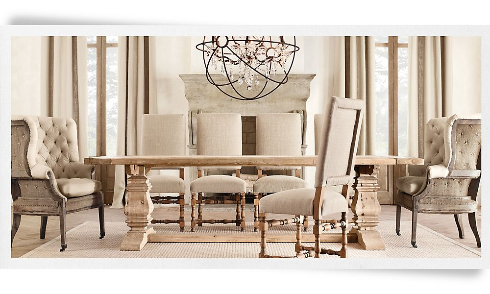 Picture of: Best Restoration Hardware Dining Table