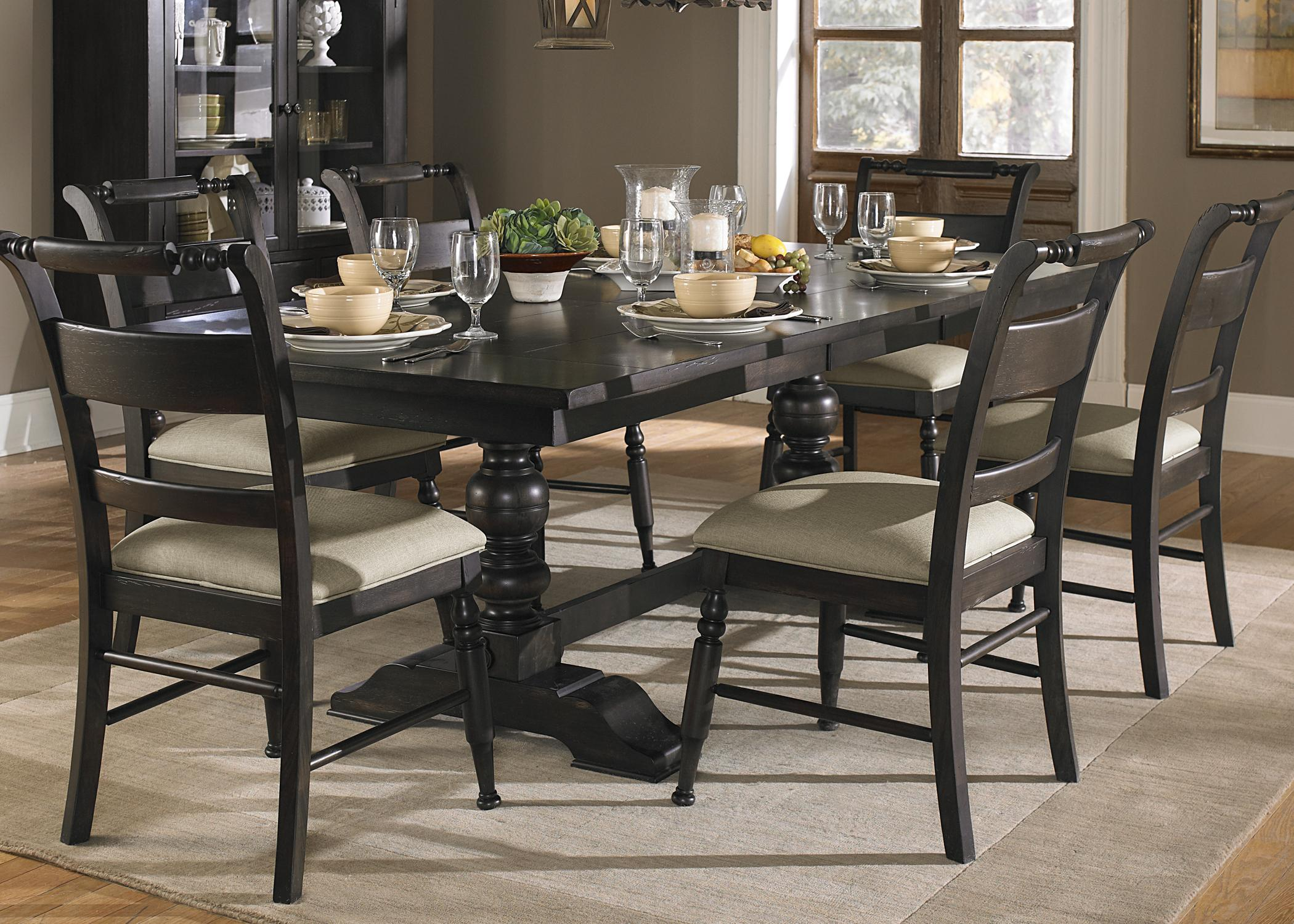 Picture of: Best Trestle Dining Room Table