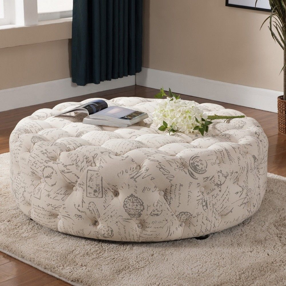 Picture of: Best Tufted Ottoman Coffee Table