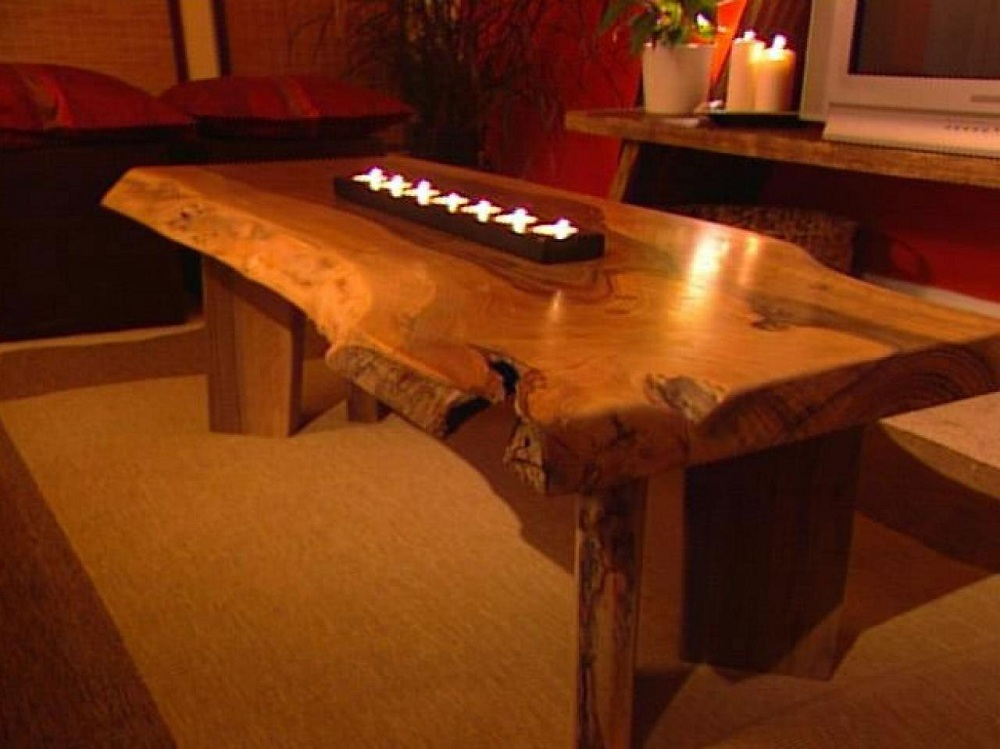 Image of: Best Wood Slabs For Table Tops