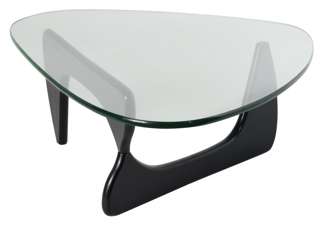 Image of: Black Noguchi Coffee Table Image