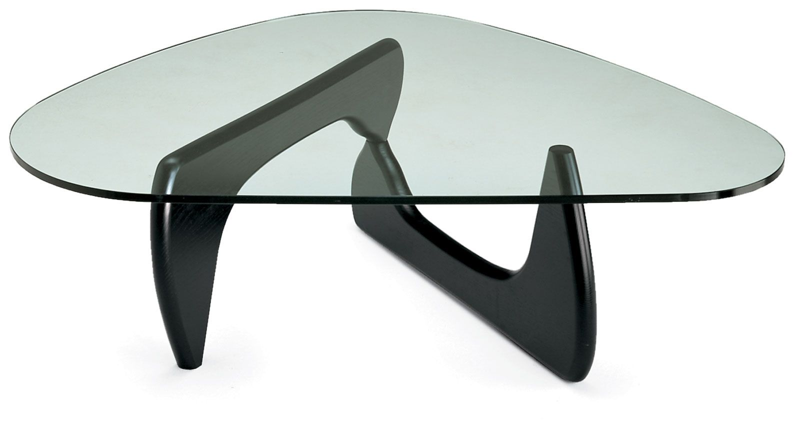 Image of: Black Noguchi Coffee Table