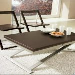 Black And White Convertible Coffee Table