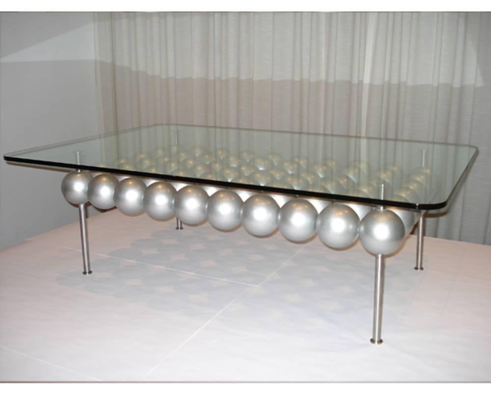 Image of: Brass Glass Coffee Table Ideas