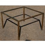Bronze Coffee Table Frame