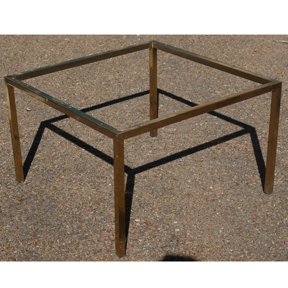 Image of: Bronze Coffee Table Frame
