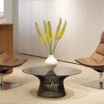 Bronze Coffee Table Knoll Platner