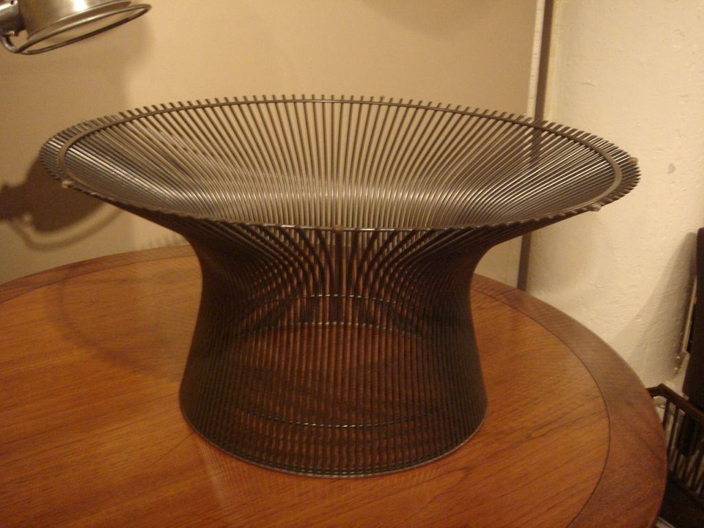 Bronze Coffee Table Warren Platner
