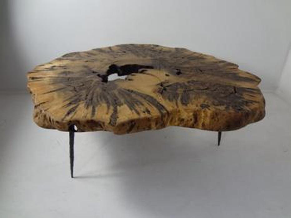 Image of: Burl Wood Coffee Tables Furniture