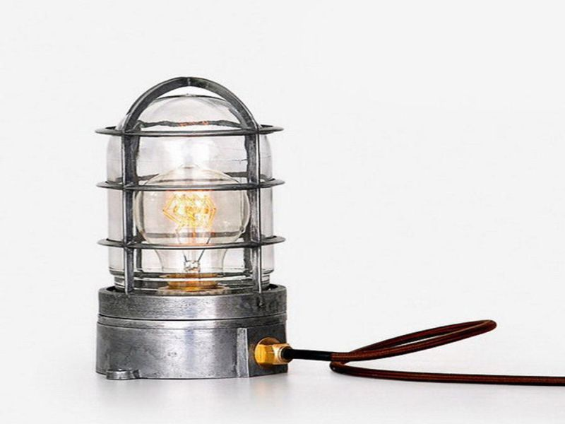 Picture of: Cage Edison Table Lamp