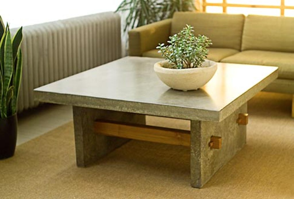 Image of: Cb2 element coffee table