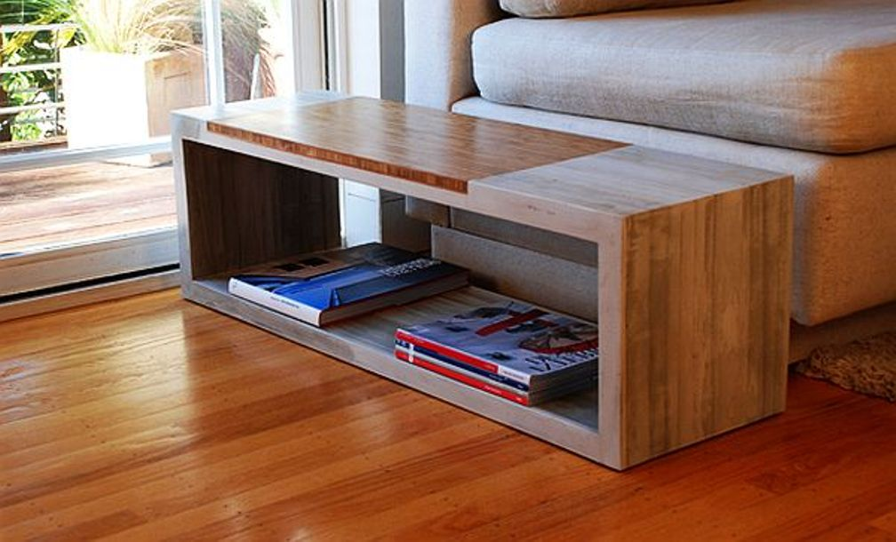Image of: Cement Coffee Table For Sale