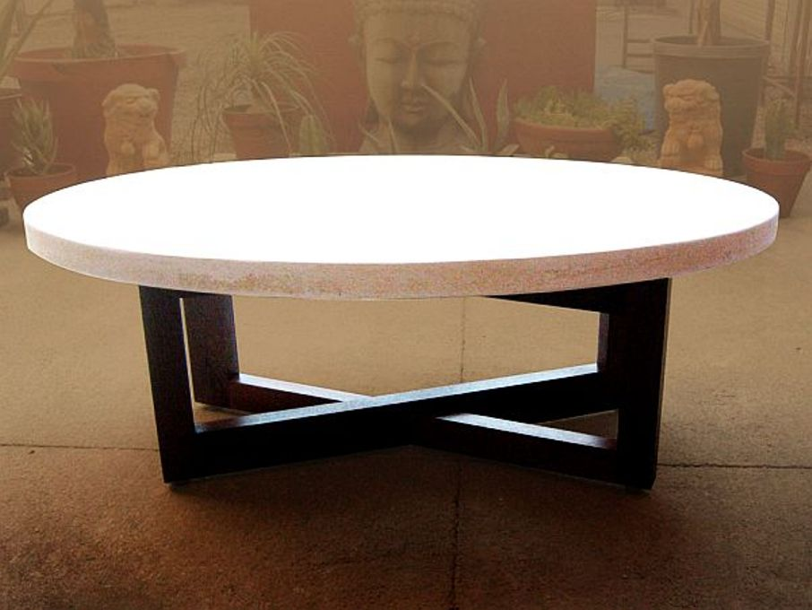 Image of: Cement Coffee Table Manufacturer