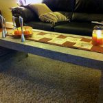 Cement Cube Coffee Table