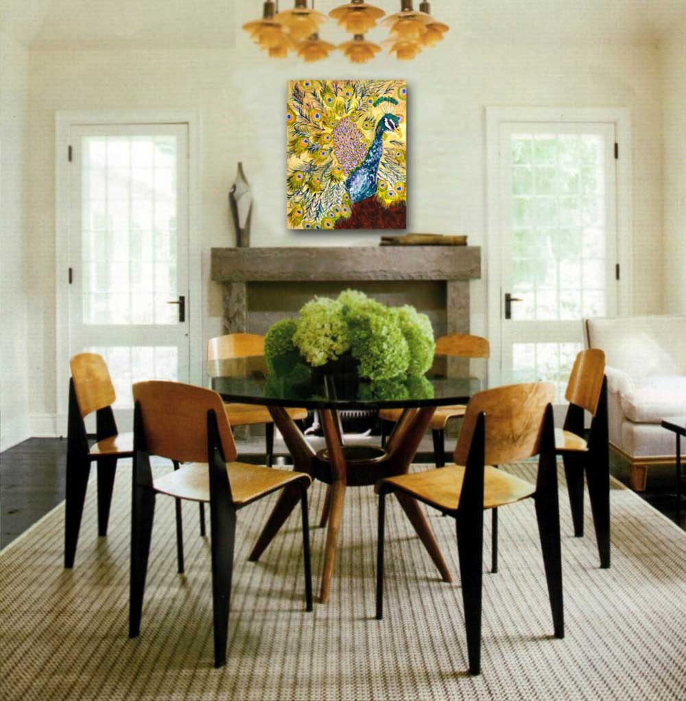 Image of: Centerpiece for Dining Room Table