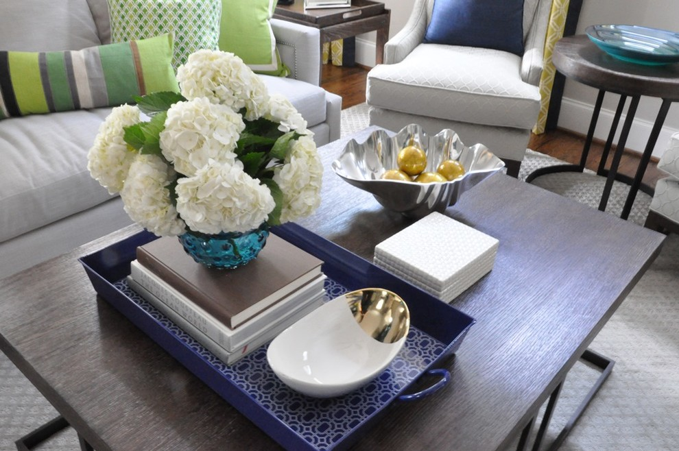 Image of: Centerpieces for Living Room Table Design