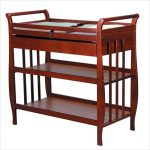Cherry Wood Changing Table Models