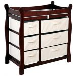 Cherry Wood Changing Table Style