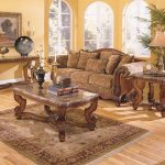 Cherry Wood Coffee Table Living Room Sets