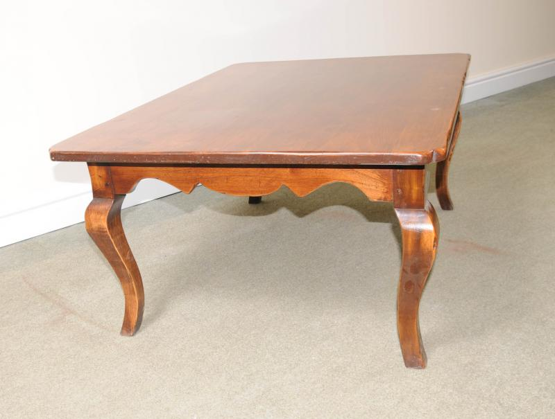 Image of: Cherry Wood Coffee Table Simple