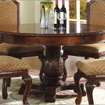 Chery Round Pedestal Dining Table