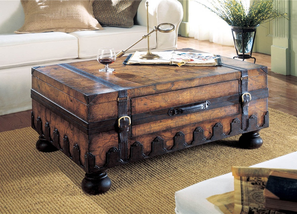 Picture of: Classic Coffee Table Trunks