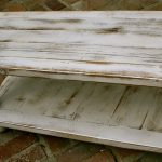 Classic Distressed White Coffee Table