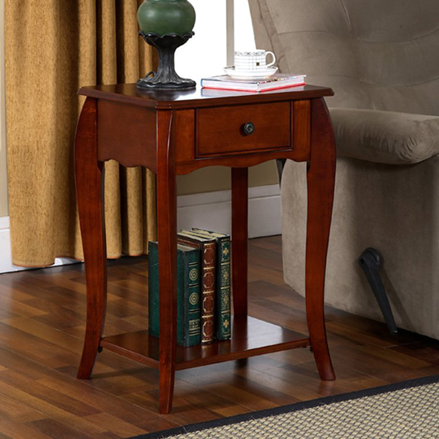 Image of: Classic Rectangular End Table