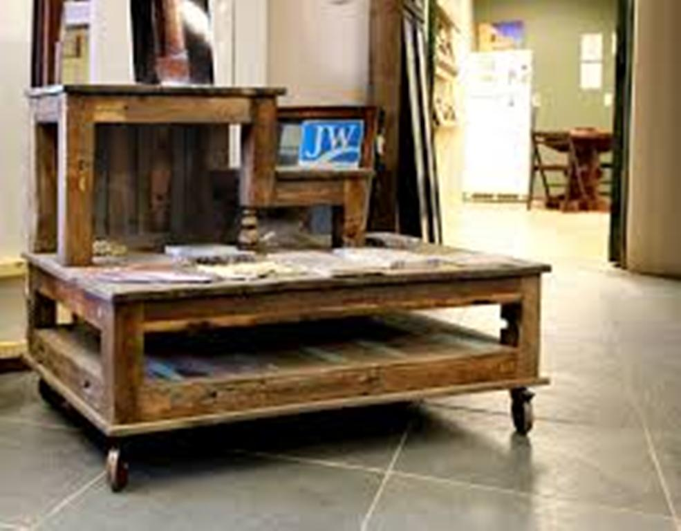 Image of: Coffee Table Wheels and Storage