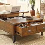 Coffee Table With Drawers Design Ideas