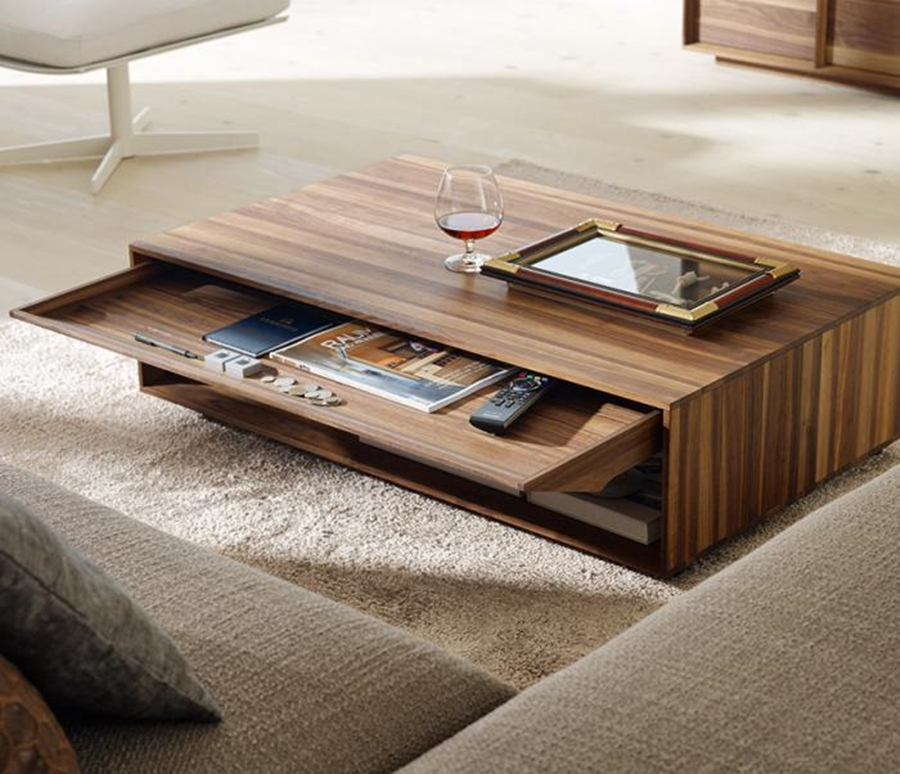 Picture of: Coffee Table With Drawers Ideas