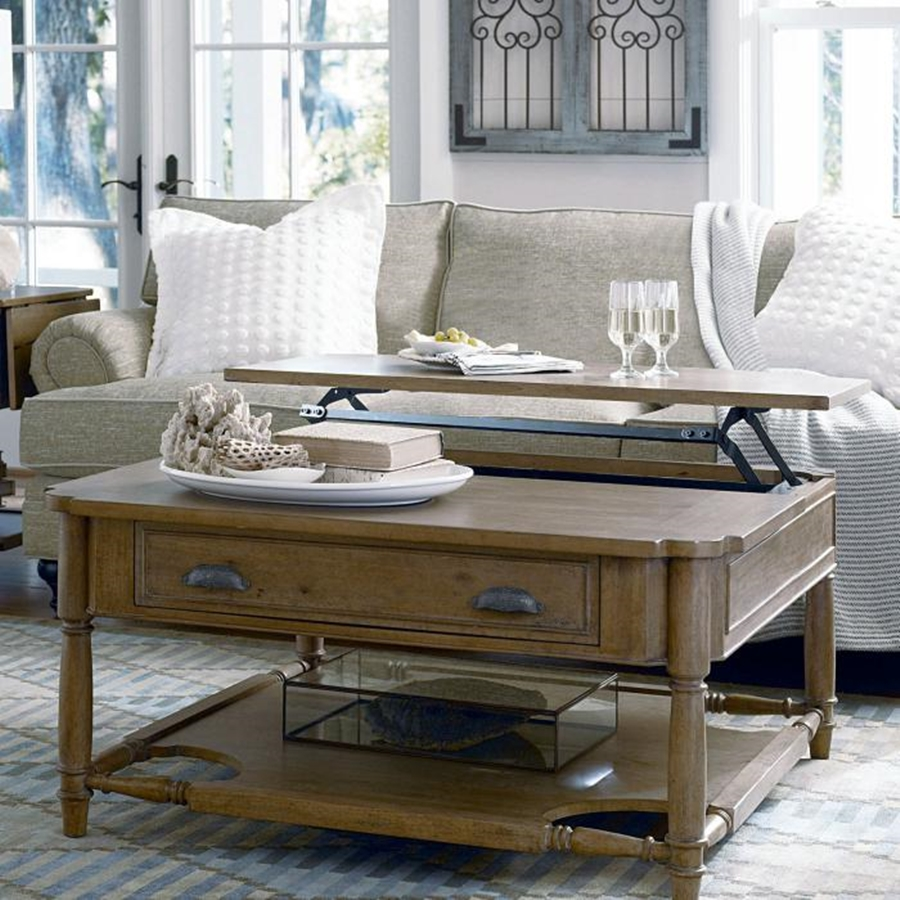 Image of: Coffee Table With Drawer
